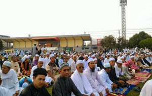 Muslims in Deep South celebrate Hari Raya festival after the end of Ramadan