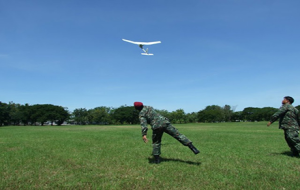 UAV drones deployed for surveillance operations in the Deep South